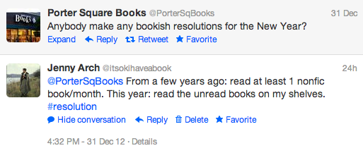 bookishresolution