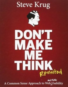 cover of Don't Make Me Think by Steve Krug, 2014 edition