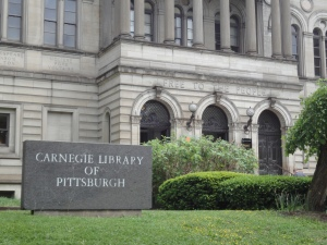Carnegie Library of Pittsburgh, building facade