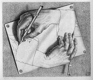 M.C. Escher's Drawing Hands