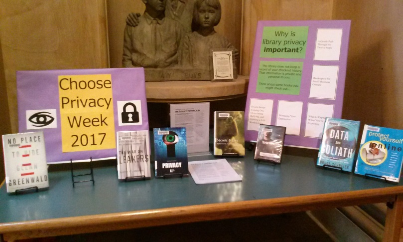 Choose Privacy Week 2017