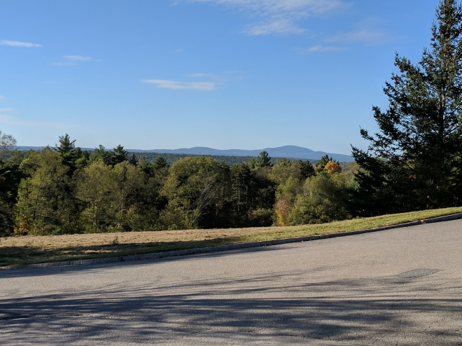 View of Wachusett from Tower Hill Botanic Garden