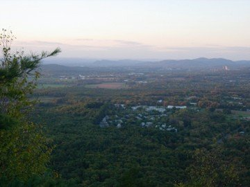 View from the notch