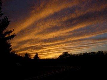 Sunset at Hampshire