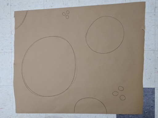 Crayon circles