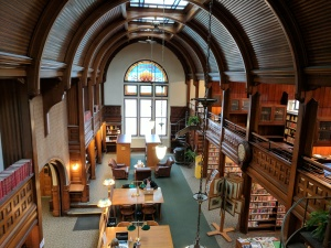 Nevins Memorial Library interior