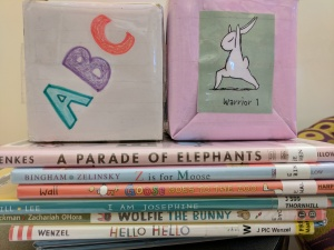 Song cube, yoga cube, picture books