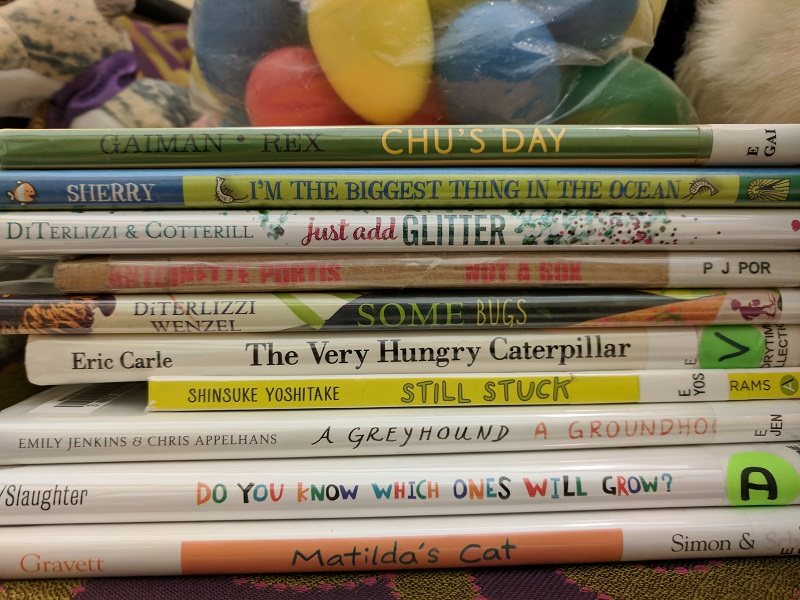 Books for storytime