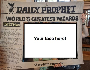 Daily Prophet photo frame