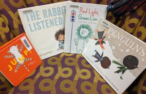 Jump, The Rabbit Listened, Red Light Green Lion, Little Penguins