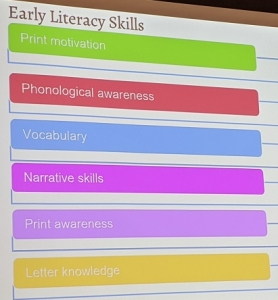 Early Literacy Skills slide