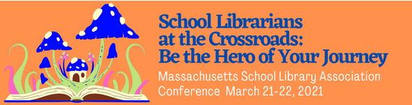 Banner: School Librarians at the Crossroads: Be the Hero of Your Journey
