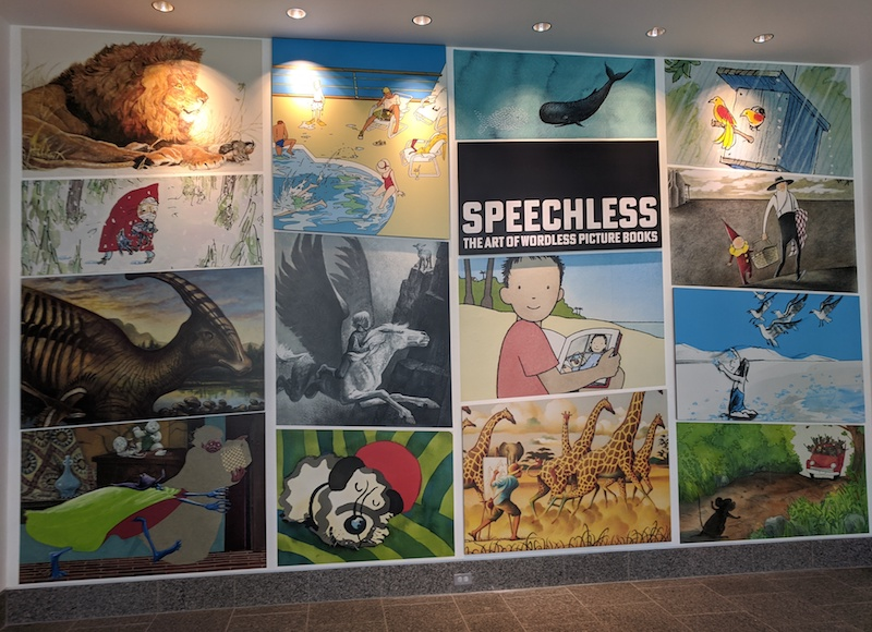 Speechless: The Art of Wordless Picture Books (images from exhibit)