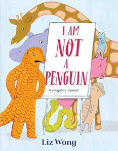 Cover images of I Am Not A Penguin