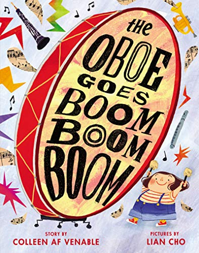Cover image of The Oboe Goes Boom Boom Boom